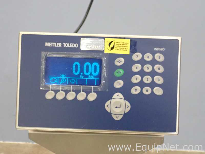 Mettler Toledo CBU300X Scale With IND560 Weighing Terminal - Image 4 of 14