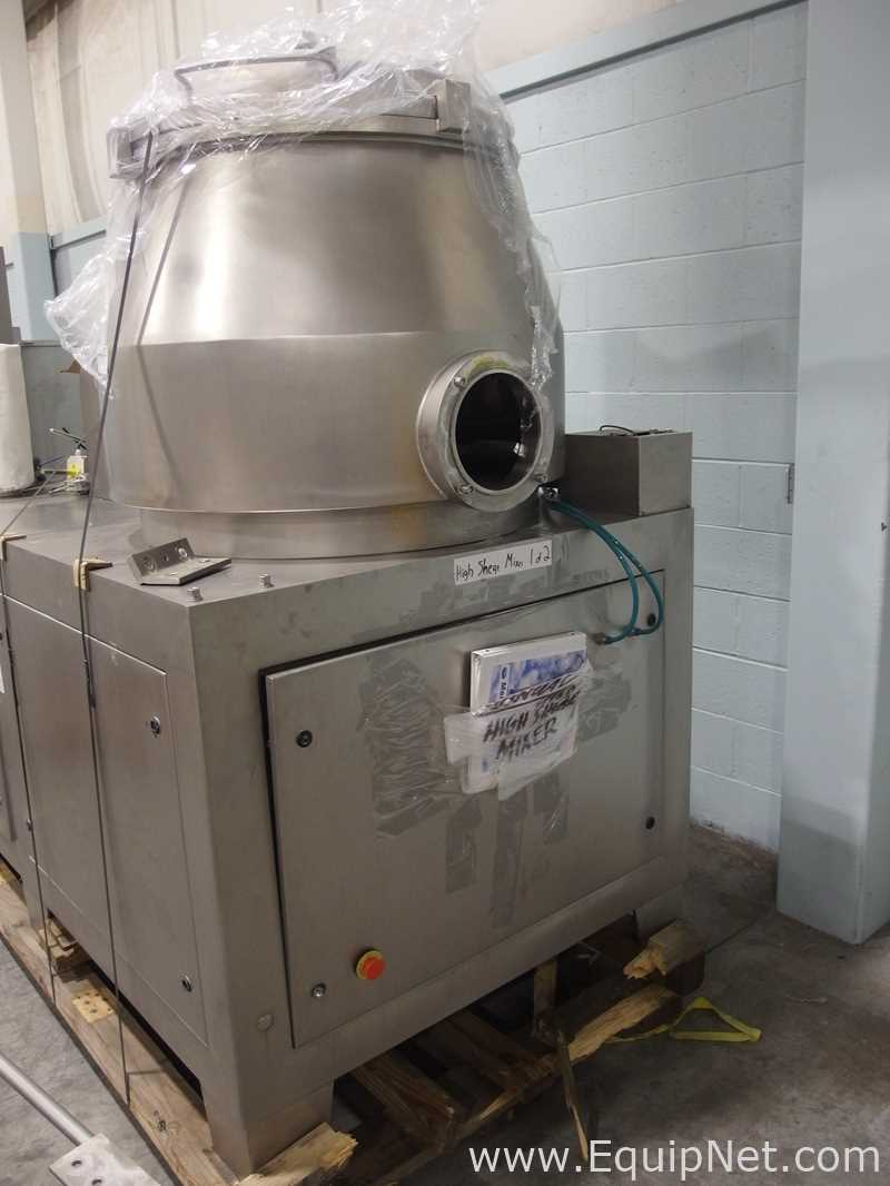 Mendel Fluid Bed Dryer Suite with High Shear Mixer - Image 5 of 56