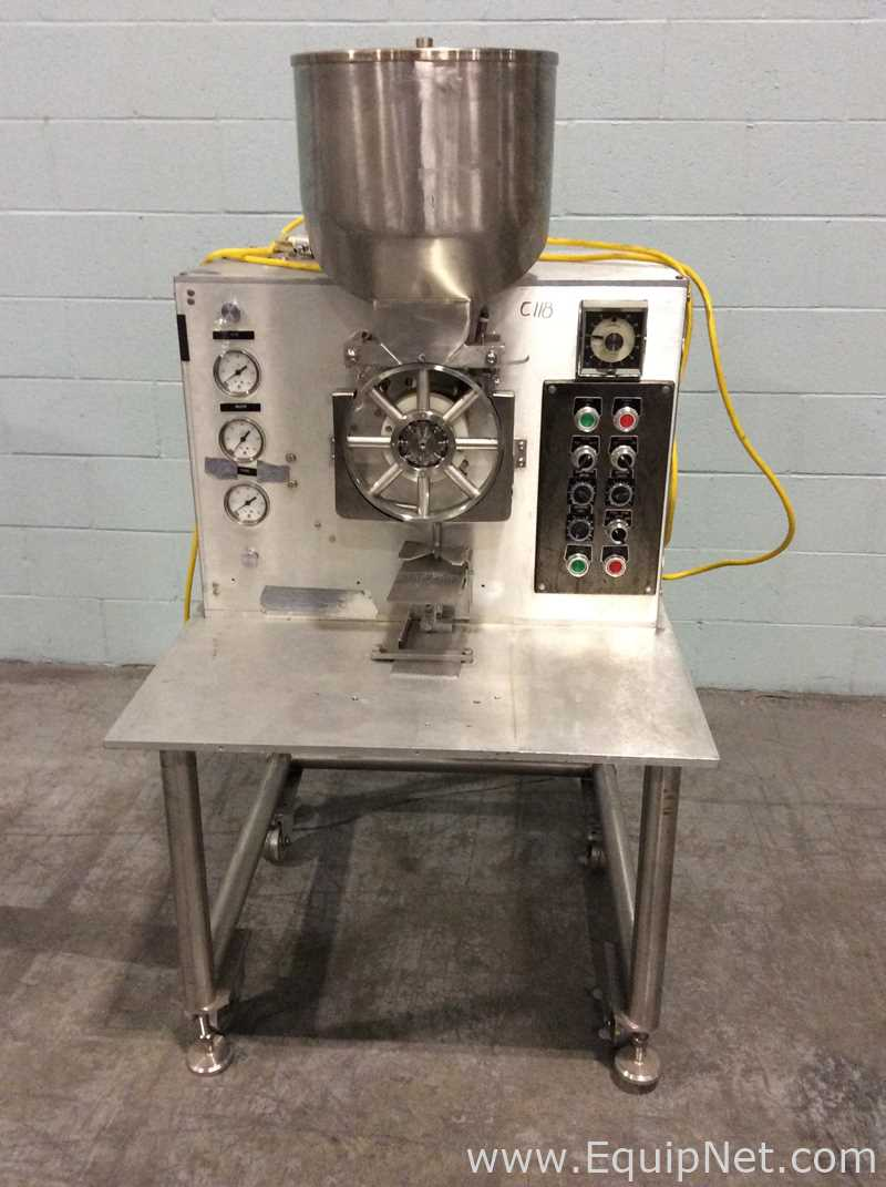 Lot 2 - Perry Industries E-1300 Table Top Powder Filler