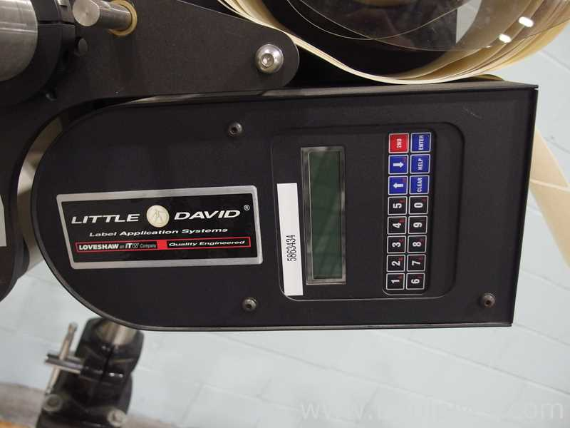Little David LS 800 DT Print and Apply Label Application System - Image 3 of 11