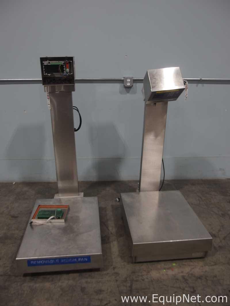 Lot of 2 Mettler Toledo Platform Scales For Repair