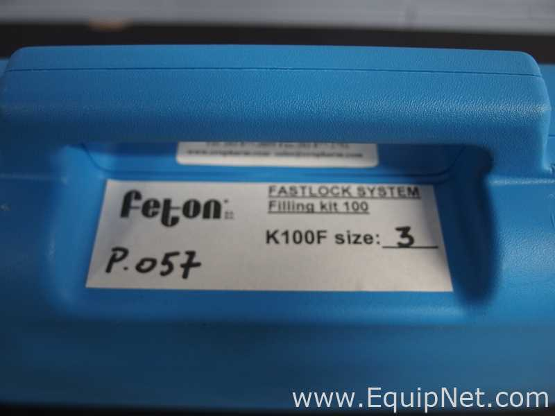 Feton Fastlock Filling Kit 100 Size 3 Manual Capsule Filler - Image 9 of 9