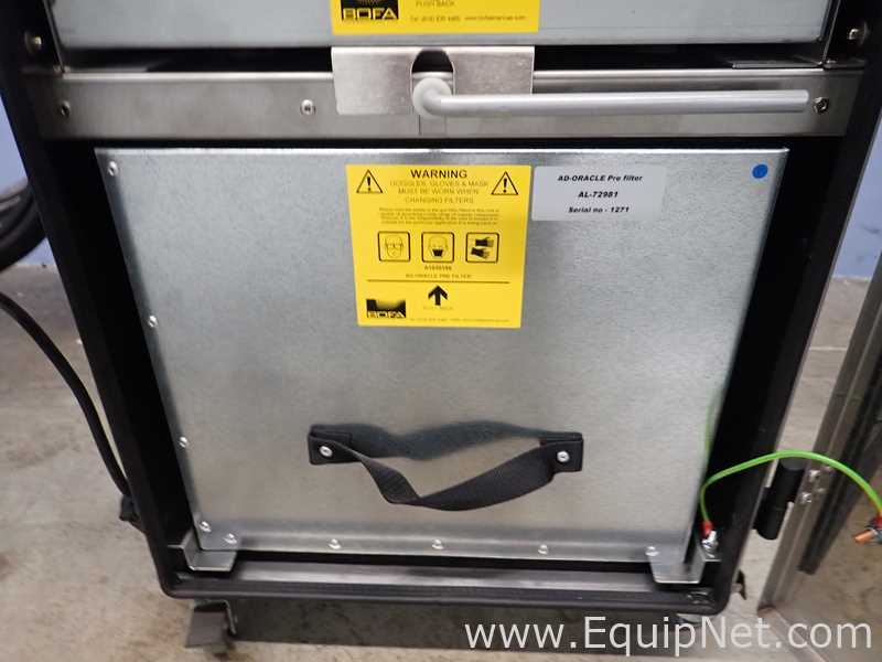 BOFA Americas ADVANTAGE ORACLE Videojet Fume Extractor - Image 11 of 13