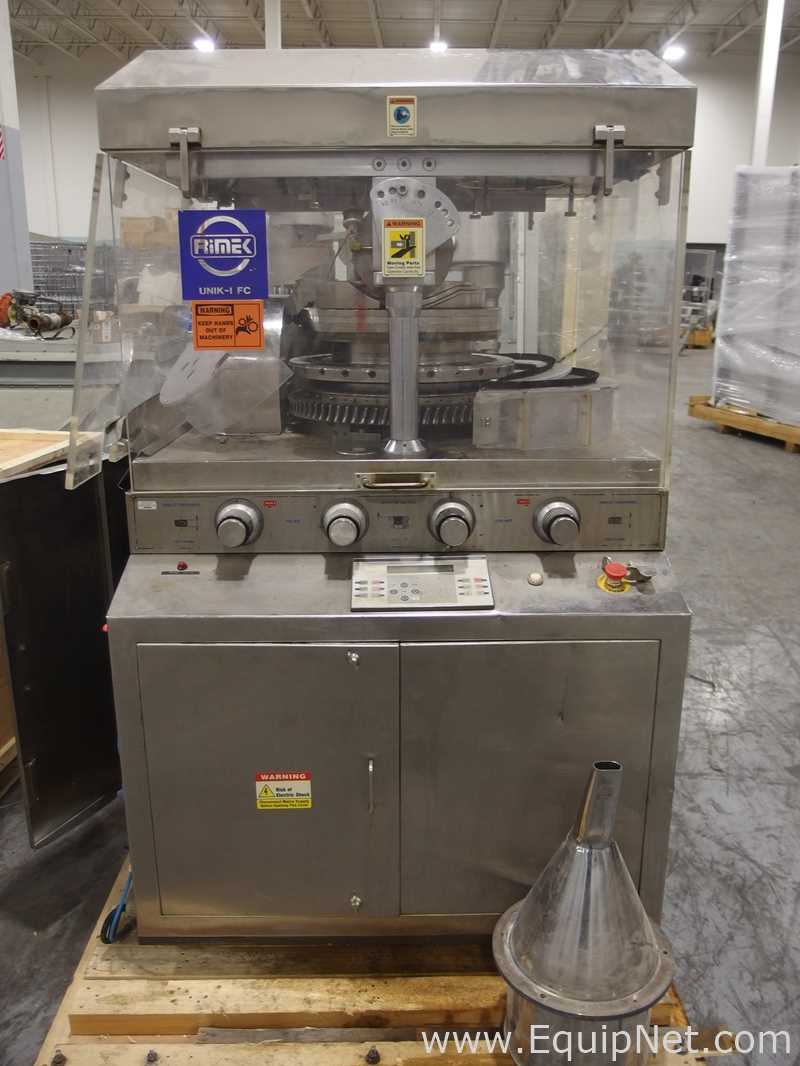 Lot 39 - Rimek UNIK-1 FC 27 Station Rotary Tablet Press