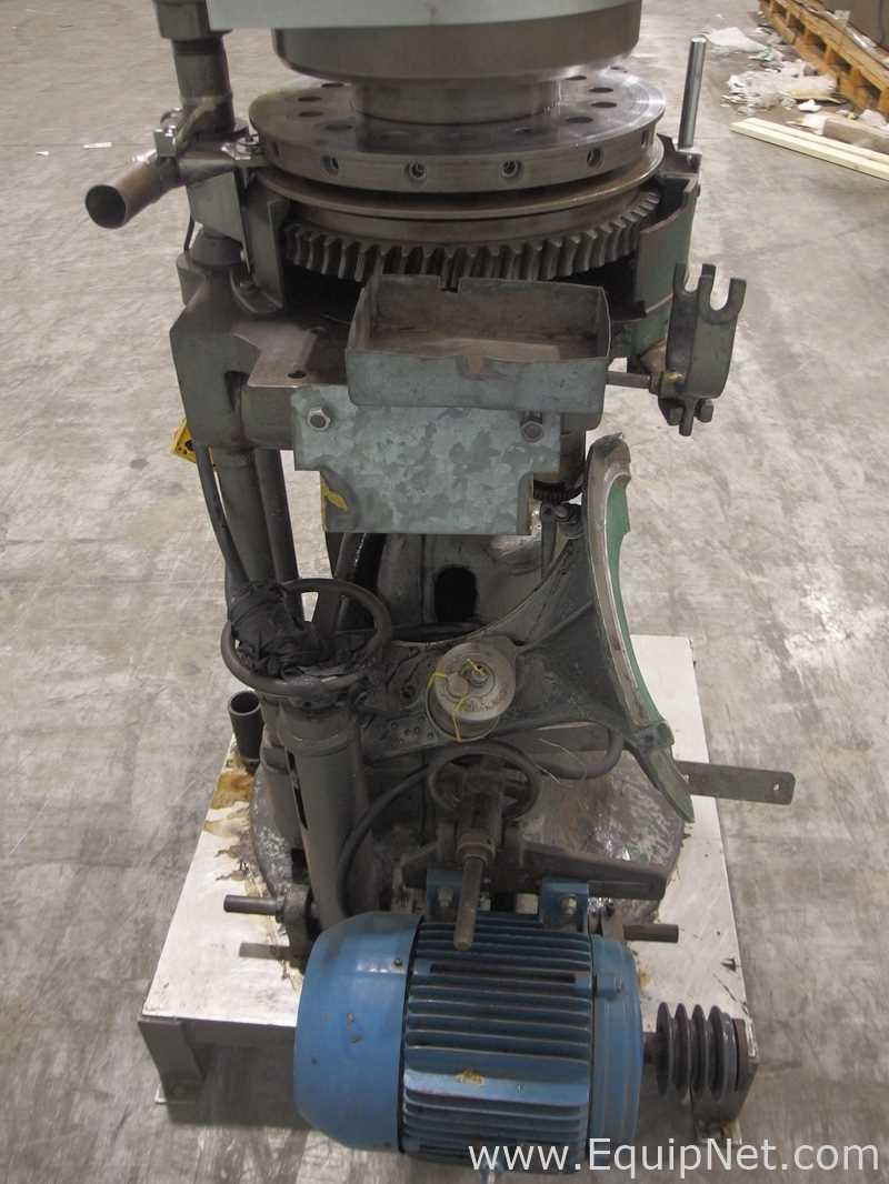 FJ Stokes Machine Co 15 Station Rotary Tablet Press - Image 8 of 11