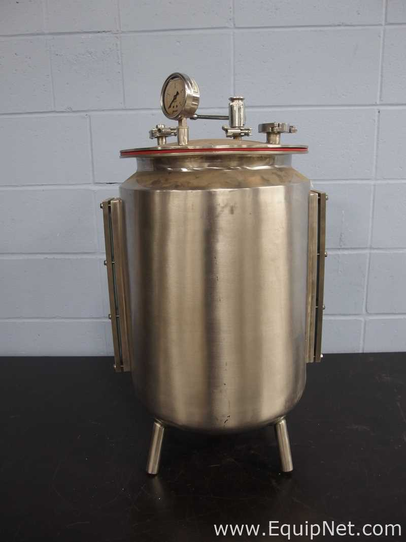 Lot 14 - Approximately 10 Gallon Stainless Steel Vessel