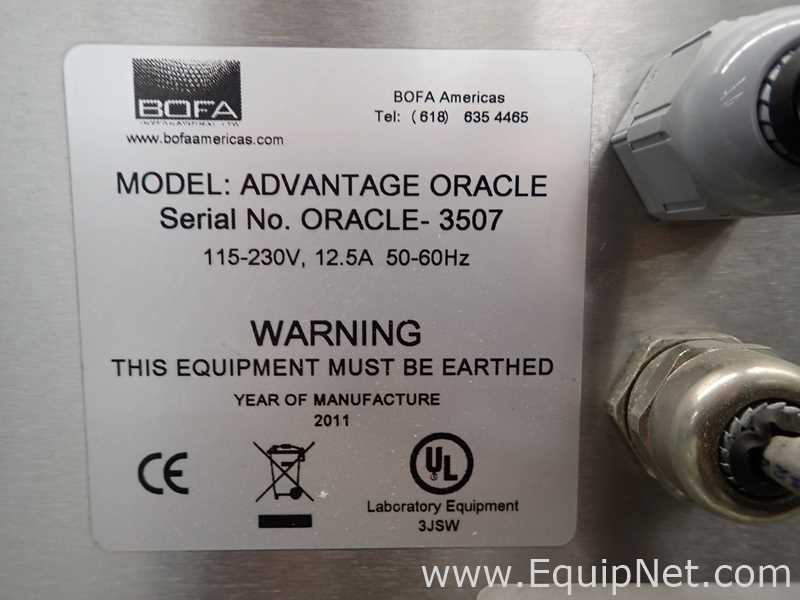 BOFA Americas ADVANTAGE ORACLE Videojet Fume Extractor - Image 13 of 13