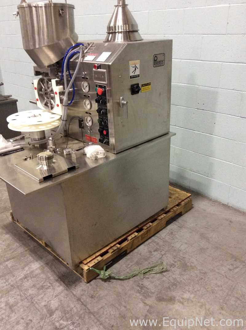 Lot 4 - Perry Industries E-1300 Table Top Powder Filler