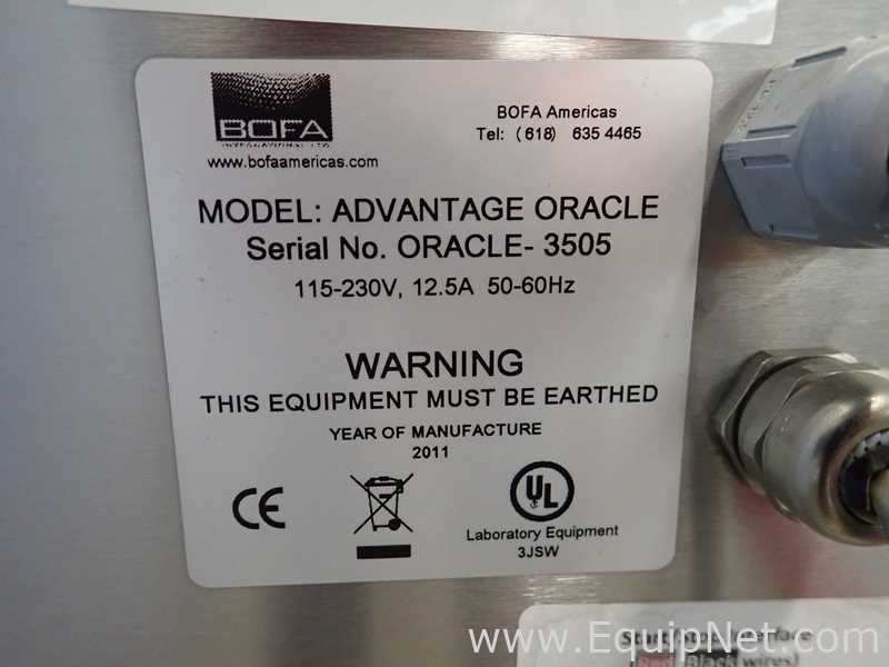 BOFA Americas ADVANTAGE ORACLE Videojet Fume Extractor - Image 15 of 15