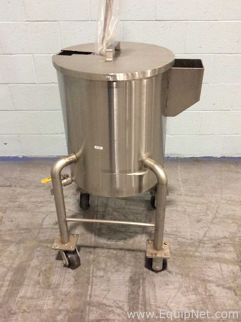 Unknown Manufacturer Approximately 20 Gallon Storage Tank - Image 2 of 4
