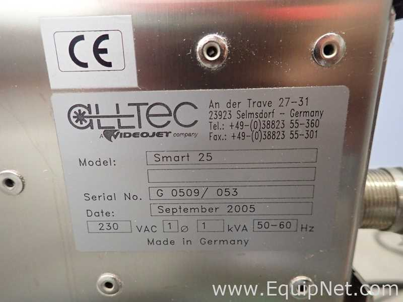 Alltec Videojet Smart 25 Allprint Laser Coder - Image 13 of 13
