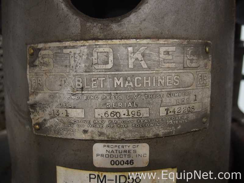 FJ Stokes Machine Co 513-1 35 Station Rotary Tablet Press - Image 15 of 15