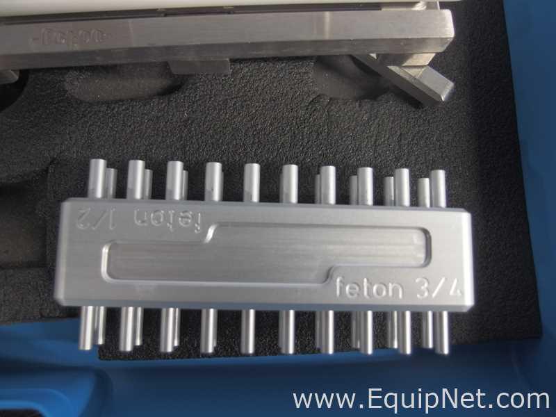Feton Fastlock Filling Kit 100 Size 2 Manual Capsule Filler - Image 6 of 8
