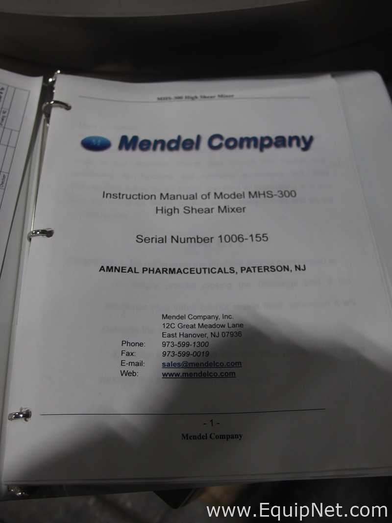 Mendel Fluid Bed Dryer Suite with High Shear Mixer - Image 10 of 56