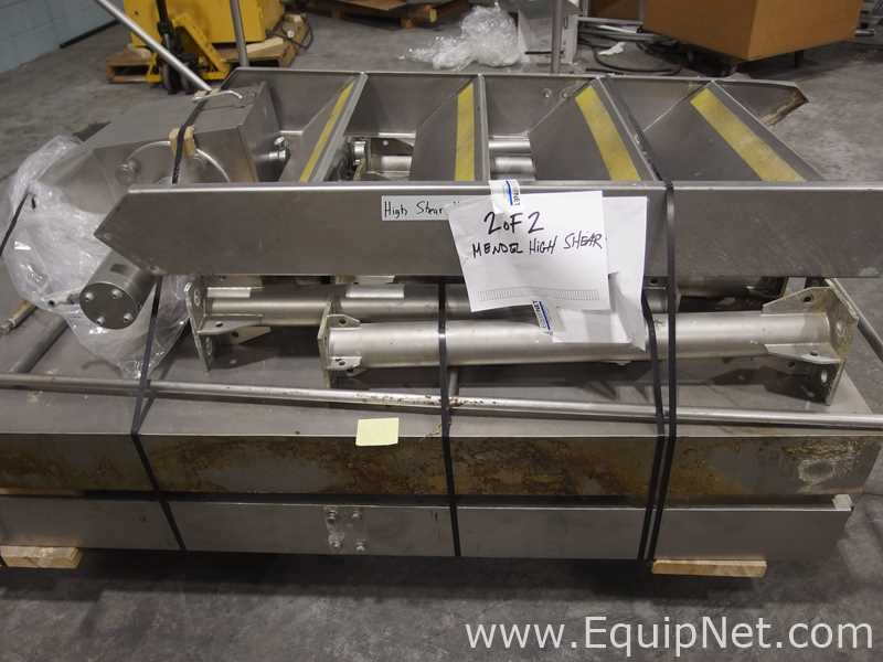 Mendel Fluid Bed Dryer Suite with High Shear Mixer - Image 15 of 56
