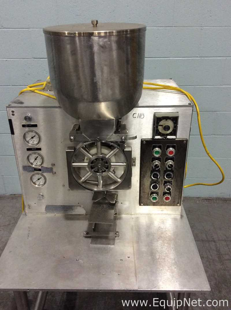Perry Industries E-1300 Table Top Powder Filler - Image 4 of 8