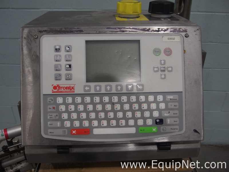 Citronix Inc. Ci700 Continuous Inkjet Printer - Image 4 of 10