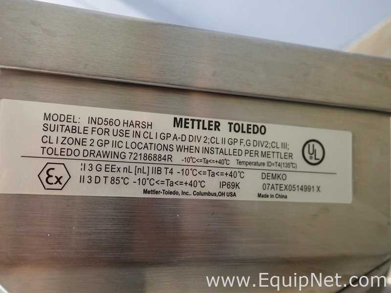 Mettler Toledo CBU300X Scale With IND560 Weighing Terminal - Image 11 of 14