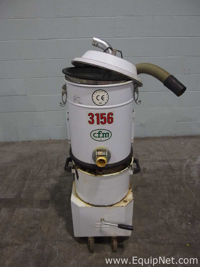 Lot 37 - Lot of 2 CFM 3156 Industrial Vacuums