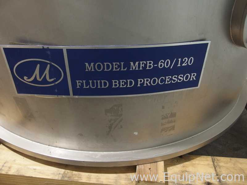 Mendel Fluid Bed Dryer Suite with High Shear Mixer - Image 47 of 56