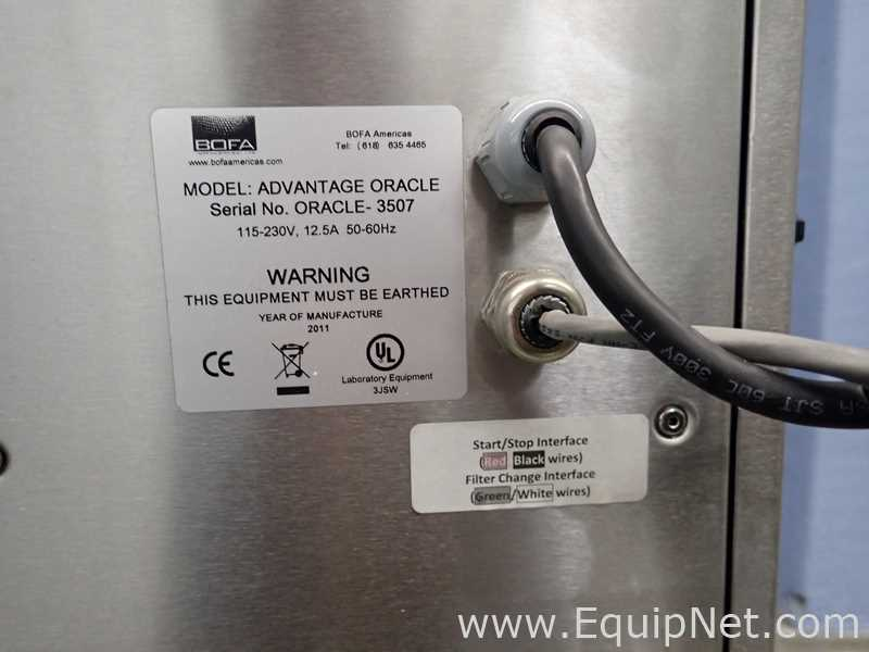 BOFA Americas ADVANTAGE ORACLE Videojet Fume Extractor - Image 12 of 13