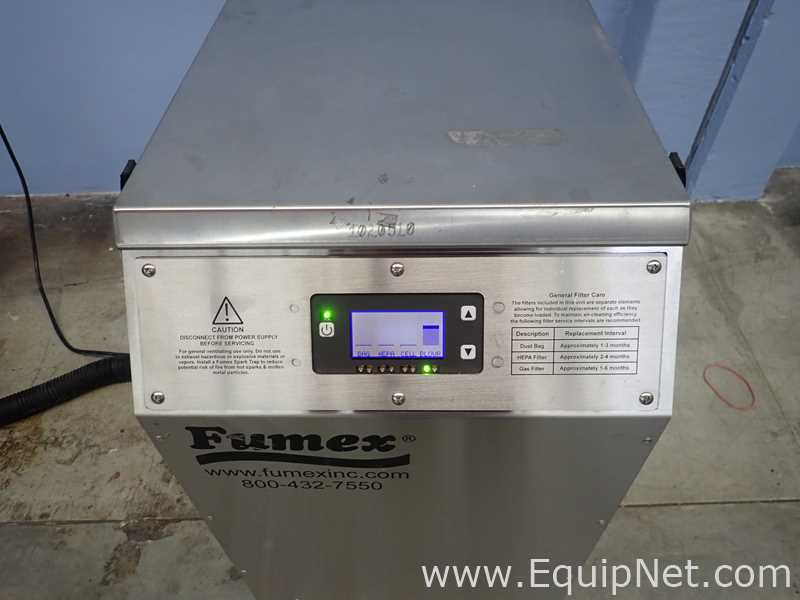 Lot 22 - Fumex FA2SSD Fume Extractor