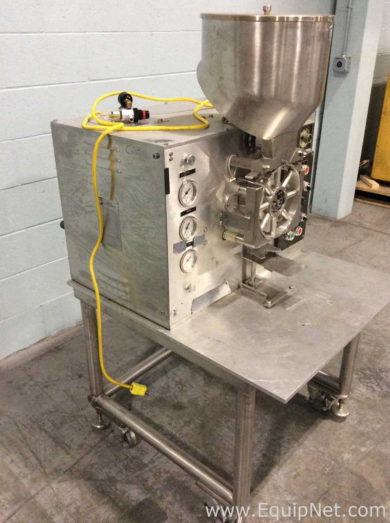 Perry Industries E-1300 Table Top Powder Filler - Image 3 of 8