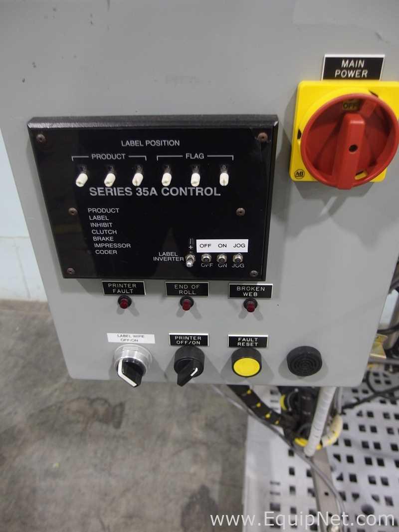 Accraply 35FS Pressure Sensitive Labeler - Image 6 of 11