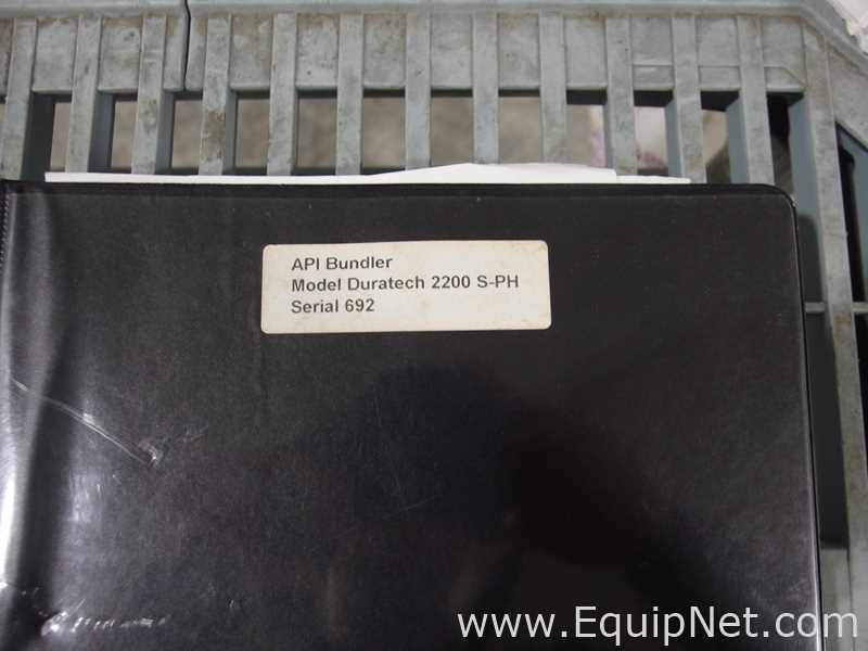 Lot 73 - Automation Packaging/DT Kalish Duratech 2200 S-PH Heat Shrink Bundler