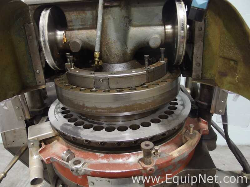 FJ Stokes Machine Co 513-1 35 Station Rotary Tablet Press - Image 4 of 15