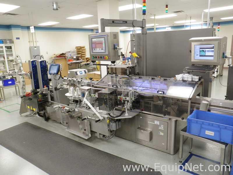 Lot 62 - Weiler Labeling Systems VRD-1000R Pressure Sensitive Wrap Labeler