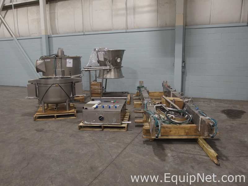Mendel Fluid Bed Dryer Suite with High Shear Mixer - Image 29 of 56