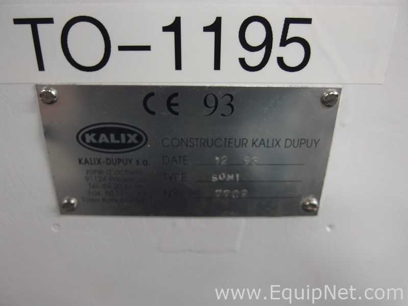 Lot 13 - Kalix Dupuy SOM1 Single Piston Table Top Filler