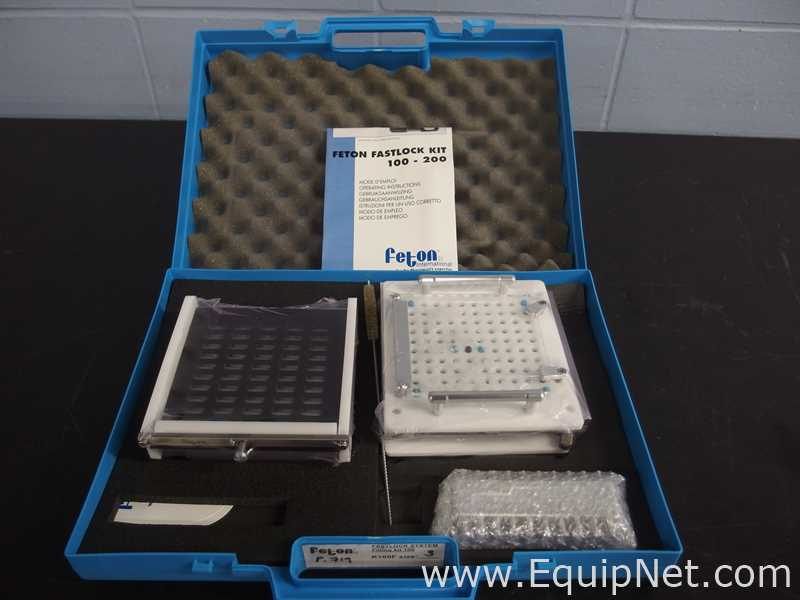 Feton Fastlock Filling Kit 100 Size 3 Manual Capsule Filler - Image 2 of 9
