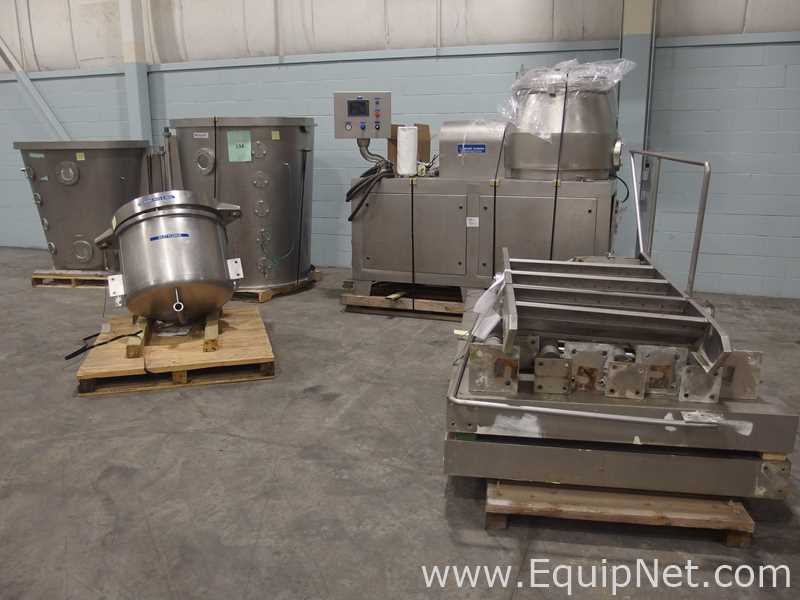 Mendel Fluid Bed Dryer Suite with High Shear Mixer