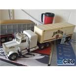 Semi truck, Jim Beam decanter, full with original seal.