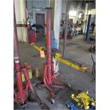 Milwaukee portable bumper jack, m/n not available, 4,000 lb. cap.