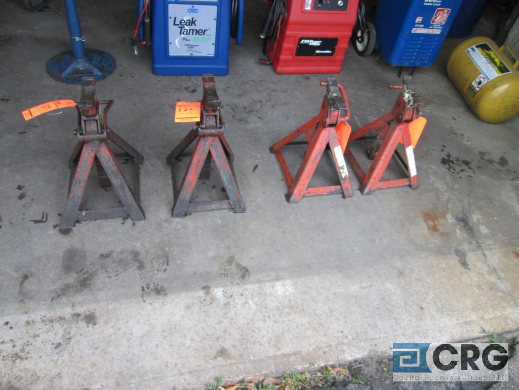 Lot of (4) assorted jack stands - Image 2 of 2