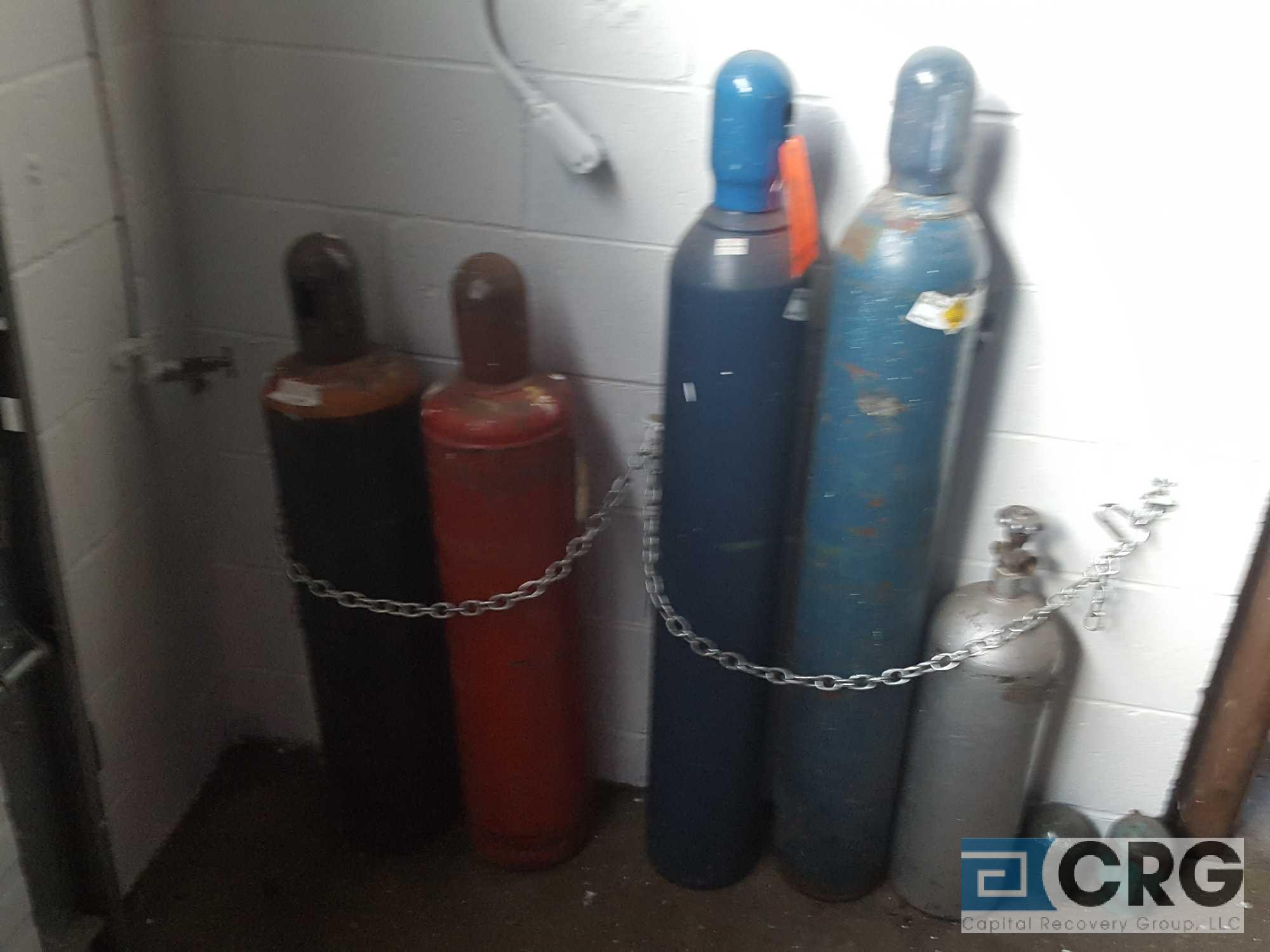 Lot of 5 assorted gas tanks