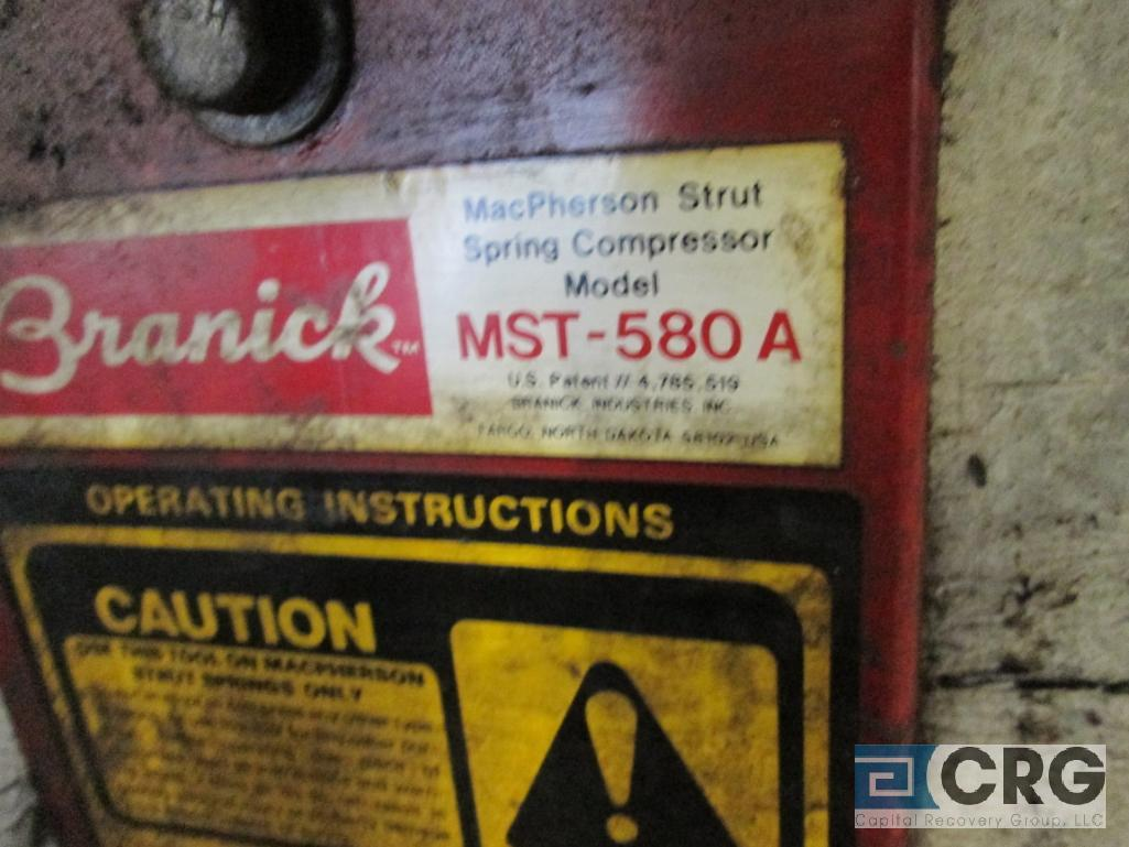 Branick MST-580A strut spring compressor wall mounted - Image 3 of 3