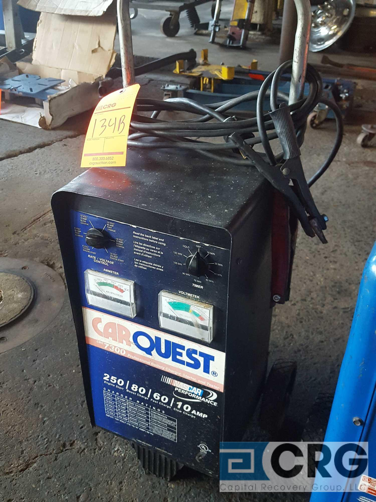 Carquest portable battery charger