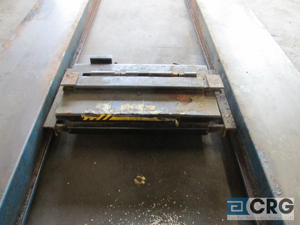 Rotary SM123-00 4 post alignment rack, 12,000 lb. cap., s/n SEA01A0003 with pneumatic jack lift - Image 6 of 6
