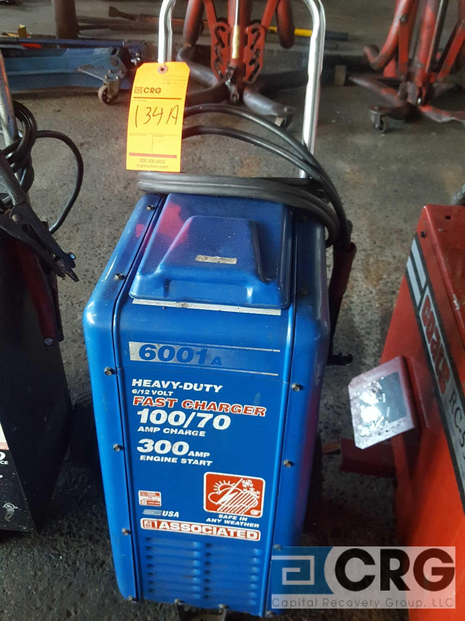 Associated battery charger model number 6001A