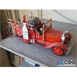 Antique Fire Engine No 4, Jim Beam decanter, full with original seal