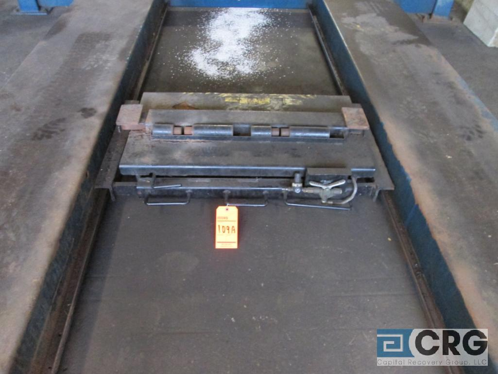 Rotary SM123-00 4 post alignment rack, 12,000 lb. cap., s/n SEA01A0003 with pneumatic jack lift - Image 5 of 6