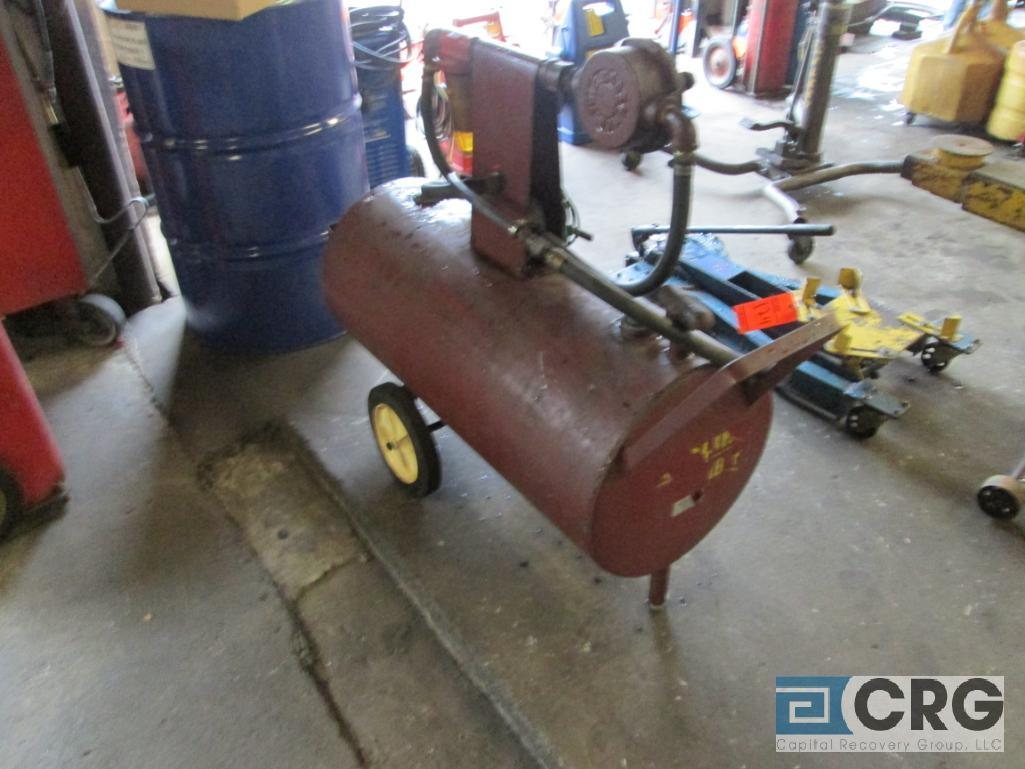 """Wen Industries portable """"Gas Buggy"""" with manual pump - Image 2 of 2"""
