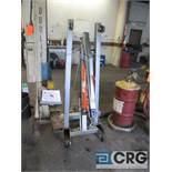 Pittsburg Automotive portable engine crane with 2 ton cap. Hydraulic jack