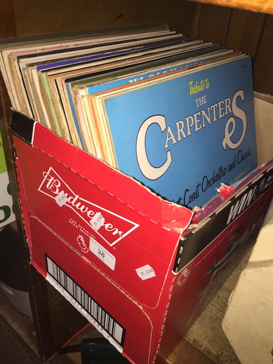 Lot 38 - A box of LPs