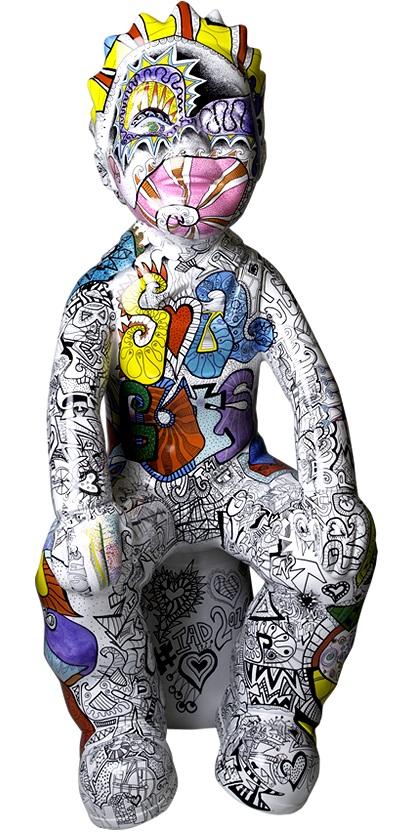 SCOTSPIRIT WULLIE - DESIGNED BY: VANESSA GIBSON - SPONSORED BY: VISIT SCOTLAND