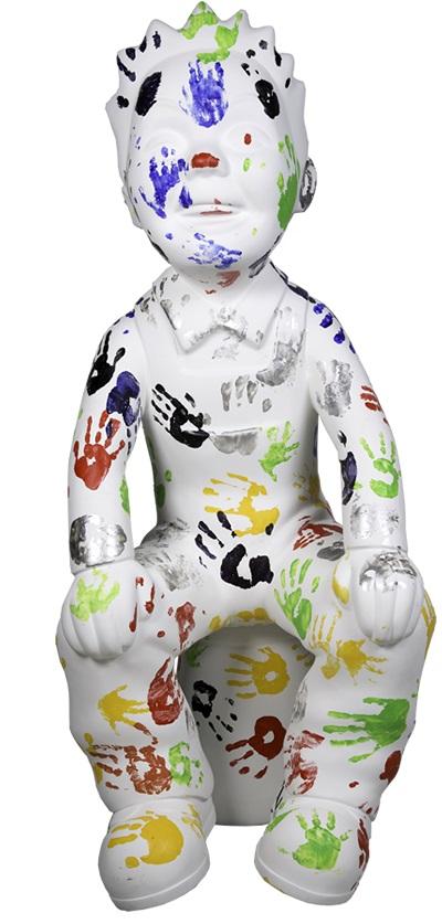 LITTLE HANDS - DESIGNED BY: Emma White and the children of Tayside Children's Hospital -